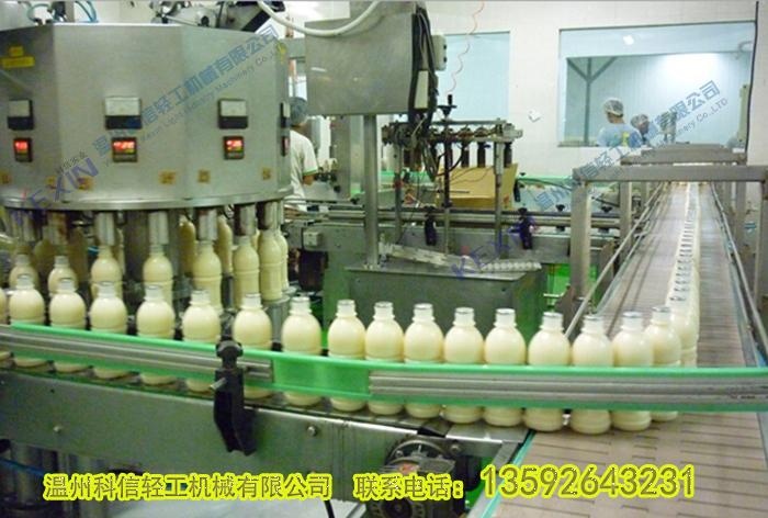 乳饮料生产线设备