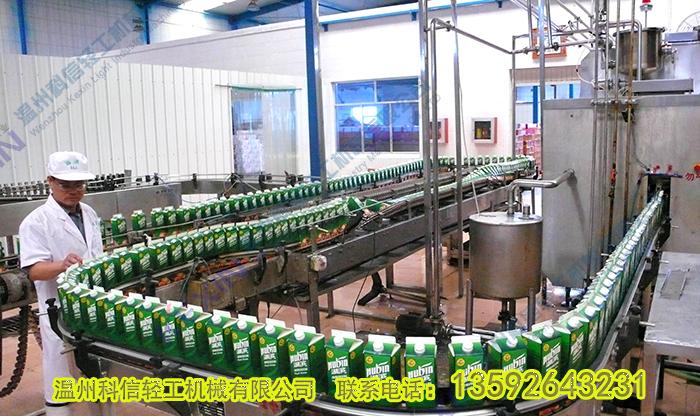 屋顶盒饮料生产线设备