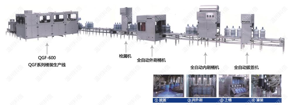 全自动桶装水设备|桶装水生产线|桶装水灌装设备