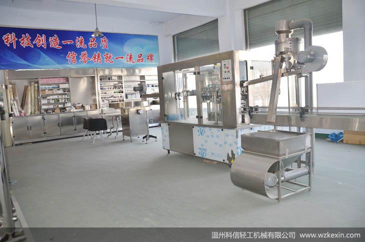 郑州科信轻工机械有限公司灌装机械设备生产线展厅