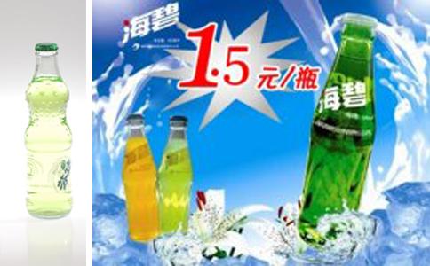 海碧、fanta饮料由小型饮料生产设备生产
