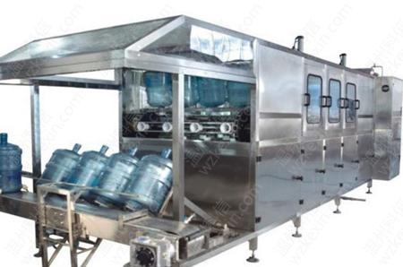 详解桶装水生产线有哪些设备?温州科信机械