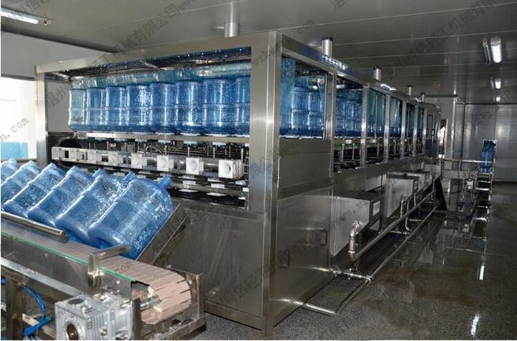 大桶纯净水灌装大红鹰娱乐0011 桶装水灌装机