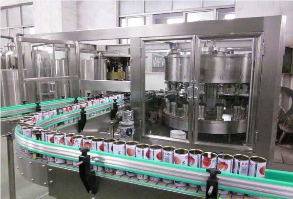 科信易拉罐灌装机